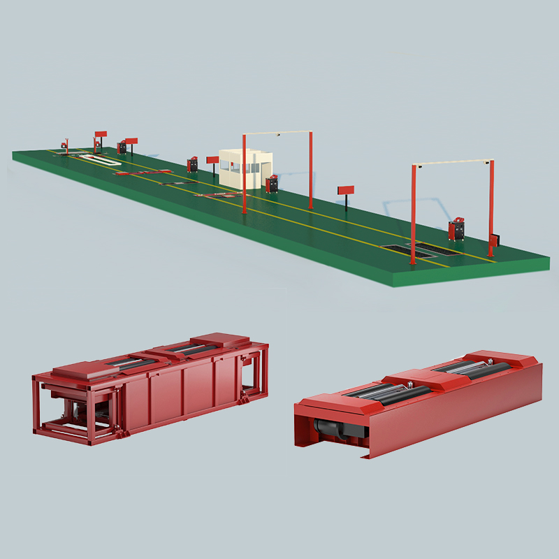 Safety Performance Testing System of Roller Type
